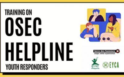 Training on Online OSEC responders